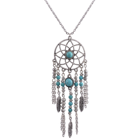Dreamcatcher Fringe Necklace