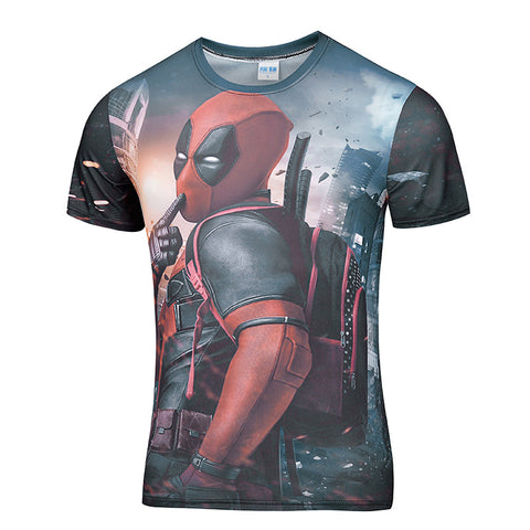 NEW Deadpool 3D Shirt Discount