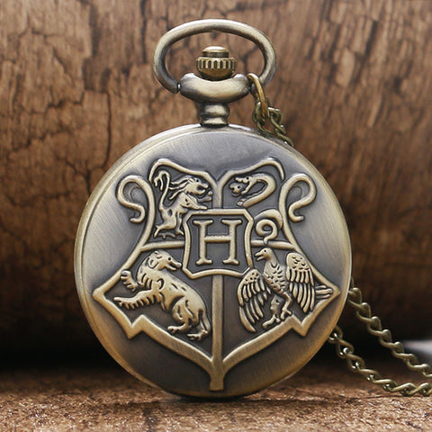 Hogwarts Pocket Watch
