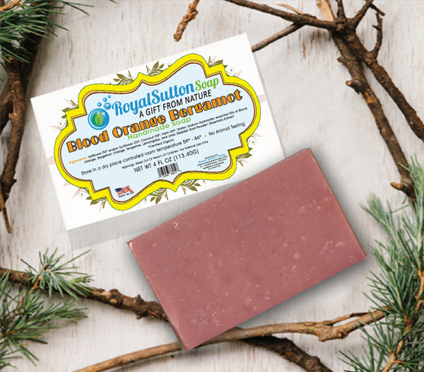 Blood Orange Bergamot Bar Soap