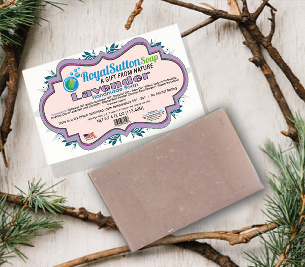 Sensual Lavender Bar Soap