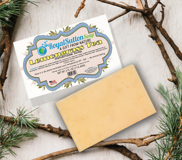 Lemongrass Blossom Bar Soap