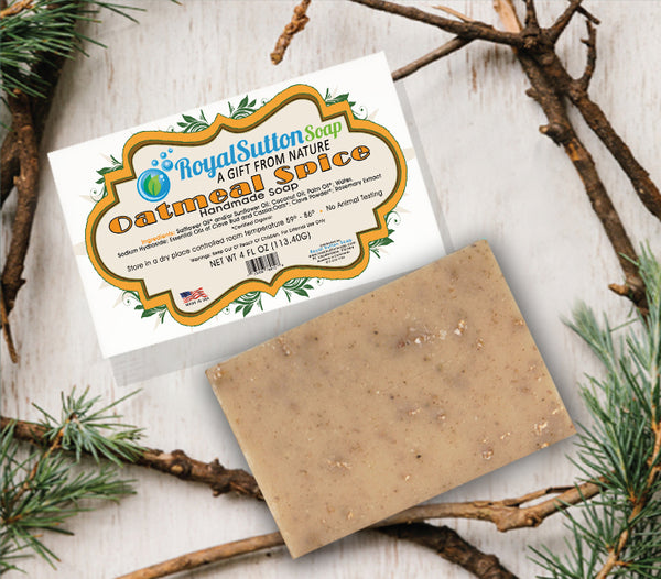 Oatmeal Spice Glow Bar Soap