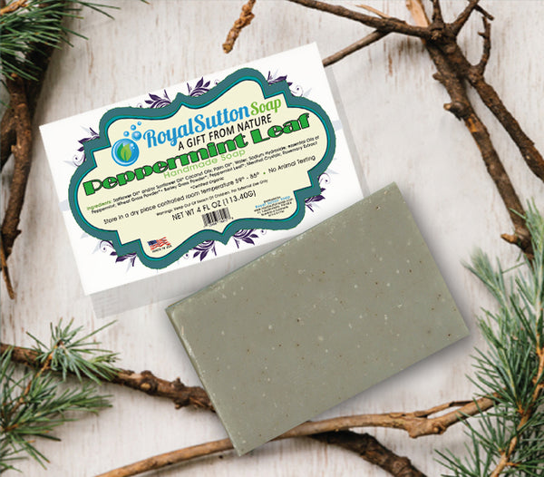 Peppermint Leaf Bar Soap