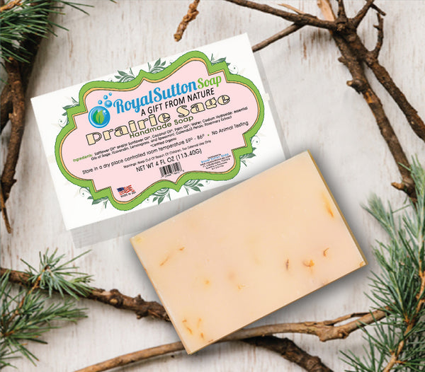 Prairie Sage Bar Soap