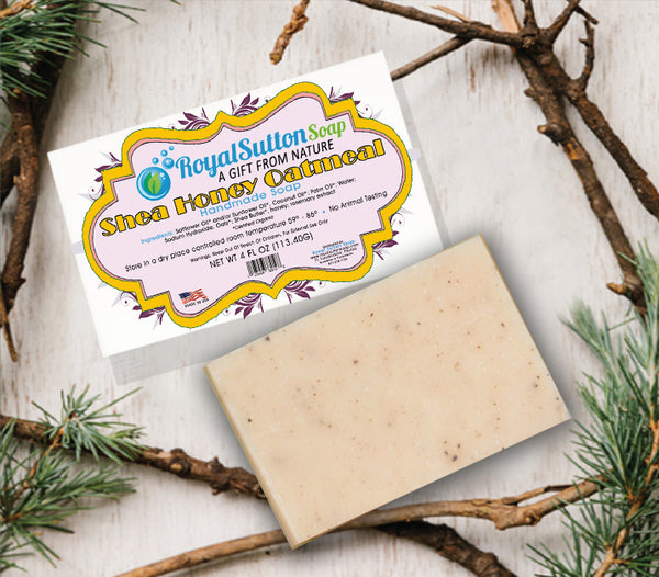 Shea Honey Oatmeal Bar Soap