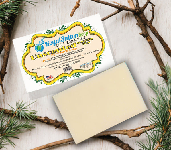 Simply Unscented Bar Soap