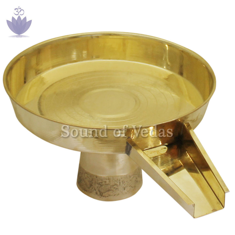 Abhishek Tray (light weight) - SoundofVedas - 1