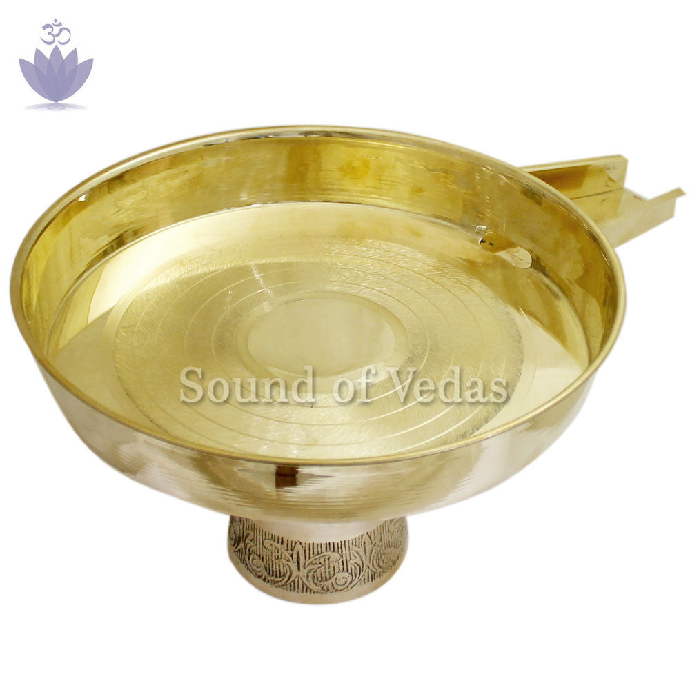 Abhishek Tray (light weight) - SoundofVedas - 2