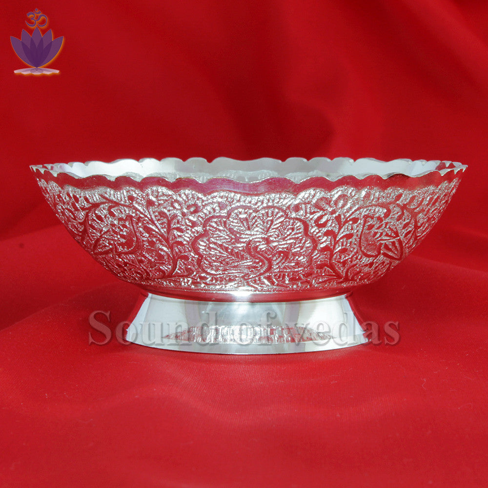 Bowl in german silver - SoundofVedas - 2