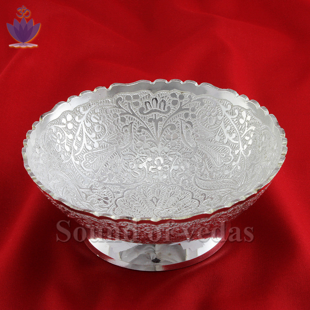 Bowl in german silver - SoundofVedas - 1