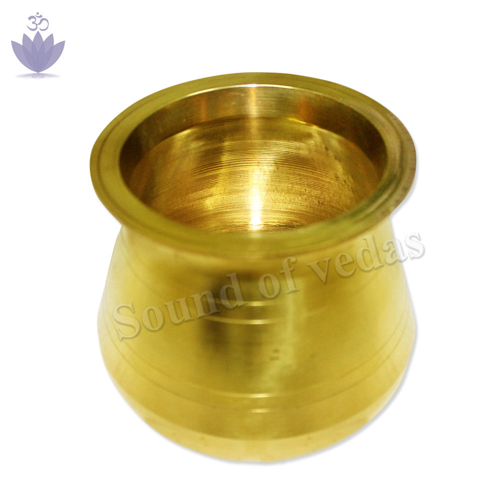 Brass Kalash - 3.5 inch - SoundofVedas