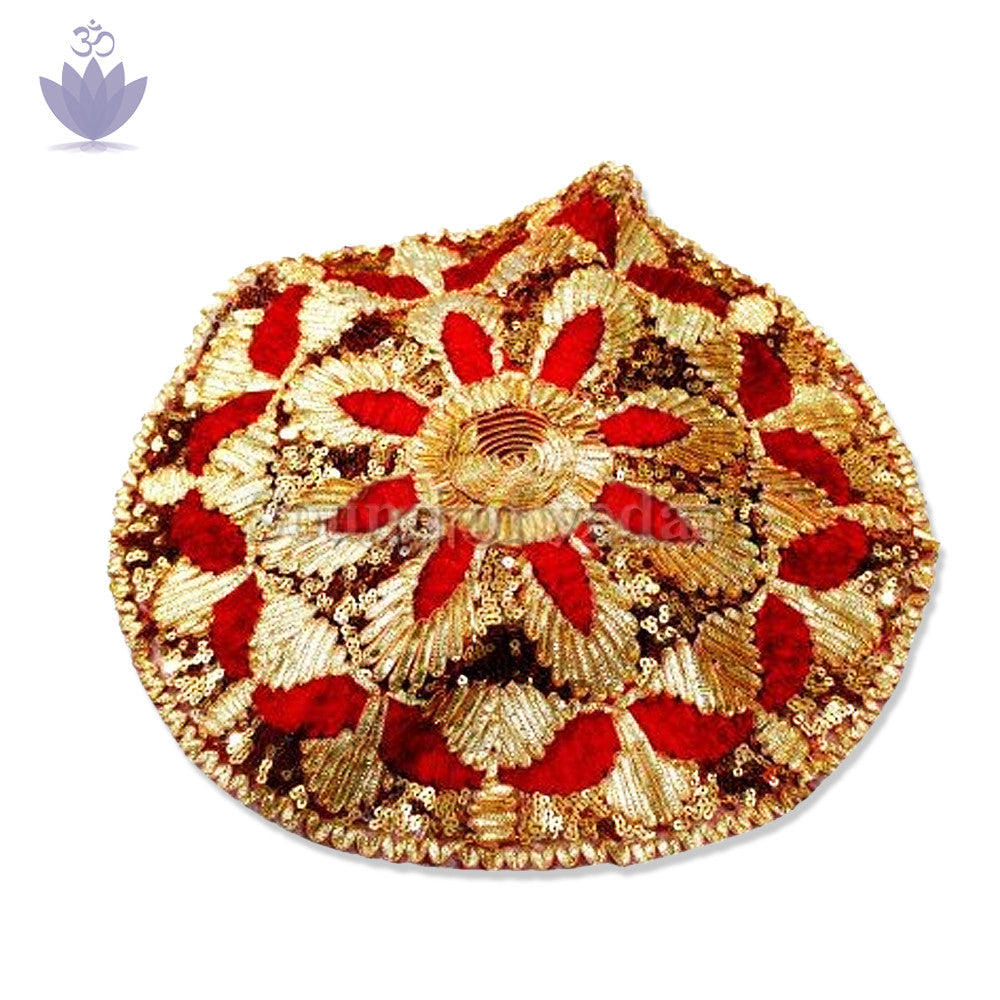Designer Cloth To Cover Puja Thali