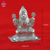 Mahalakshmi in german silver - SoundofVedas - 2