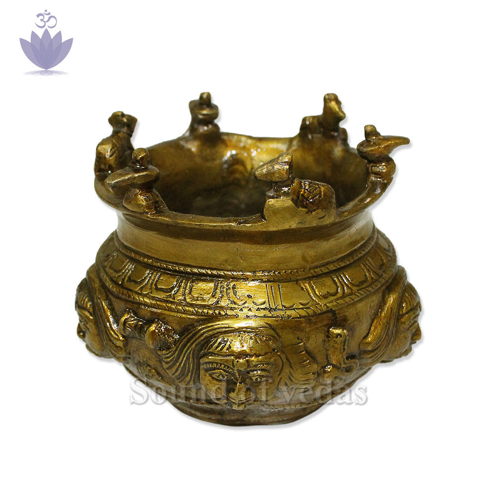 Nandi Lota in Brass - SoundofVedas - 1