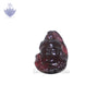 Face of Lord Shiva in Garnet Gemstone - SoundofVedas - 1