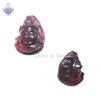 Face of Lord Shiva in Garnet Gemstone - SoundofVedas - 3