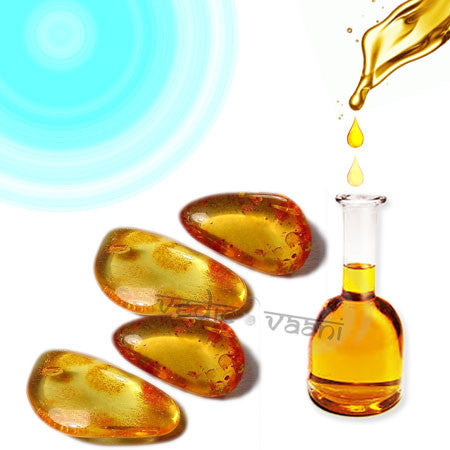 Amber oil - 100 ml - SoundofVedas