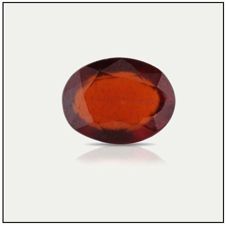 Gomedh (Hessonite) - 12.65 carats - SoundofVedas