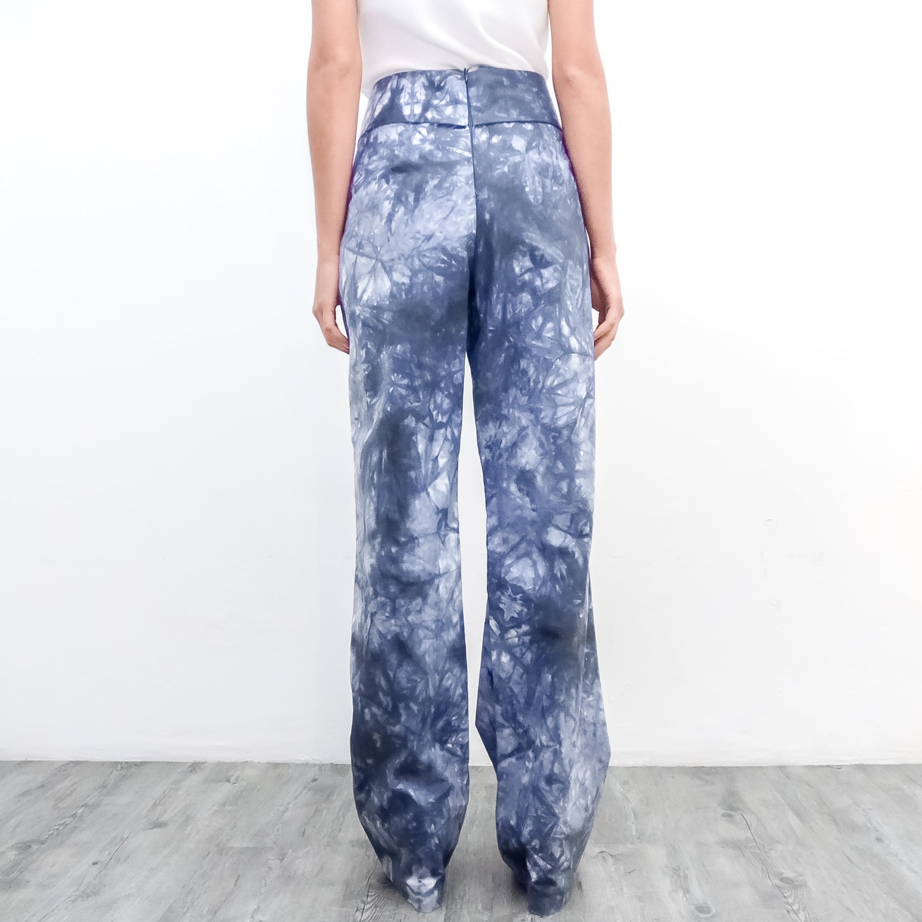 FLARE PANTS - AFRICAN WAX PRINT
