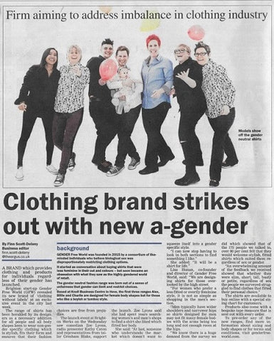 GFW Clothing in The Argus