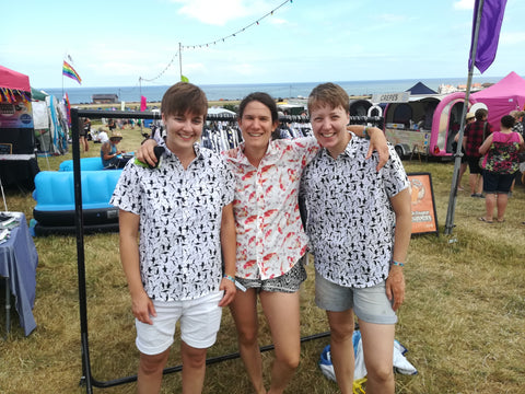 Lfest - customers in GFW Shirts
