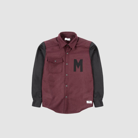 551063b4d5 Why not add this Varsity jacket to your winter wardrobe  Made from a 55%  wool 45% polyester combo