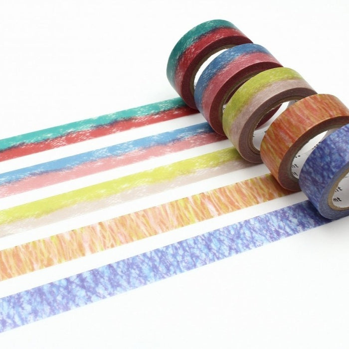 Chigi Hari Washi Tape Box Set - Crayons