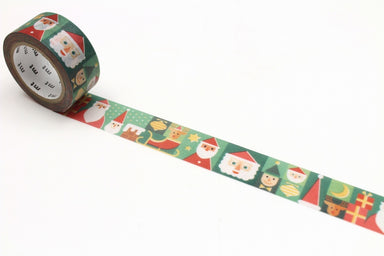 Limited Edition Washi Tape - Santa on Vacation