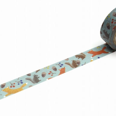 Washi Tape - Fox & Squirrel