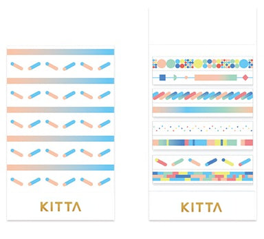 [Pre-order / Shipped on/after Sep. 30th] KITTA Stickers - Slim Colors
