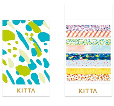 [Pre-order / Shipped on/after Sep. 30th] KITTA Stickers - Slim Canvas
