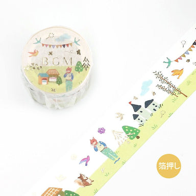 Washi Tape - Forest Concert