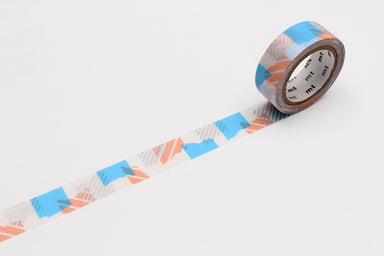 Washi Tape - Blue and Pink Pattern