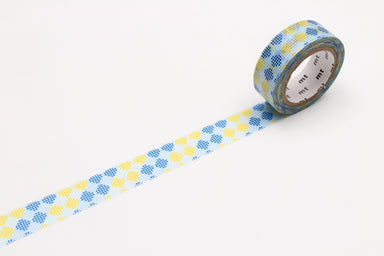 Washi Tape - Blue and Yellow