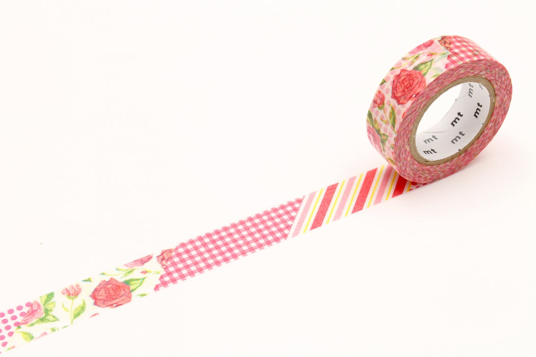 Washi Tape - Flower Red
