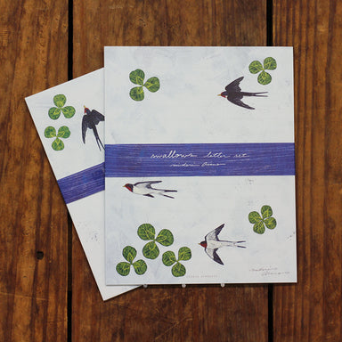 Letter Set - Swallows