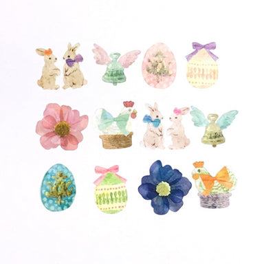 Limited Quantity Bande Washi Stickers - Easter 02