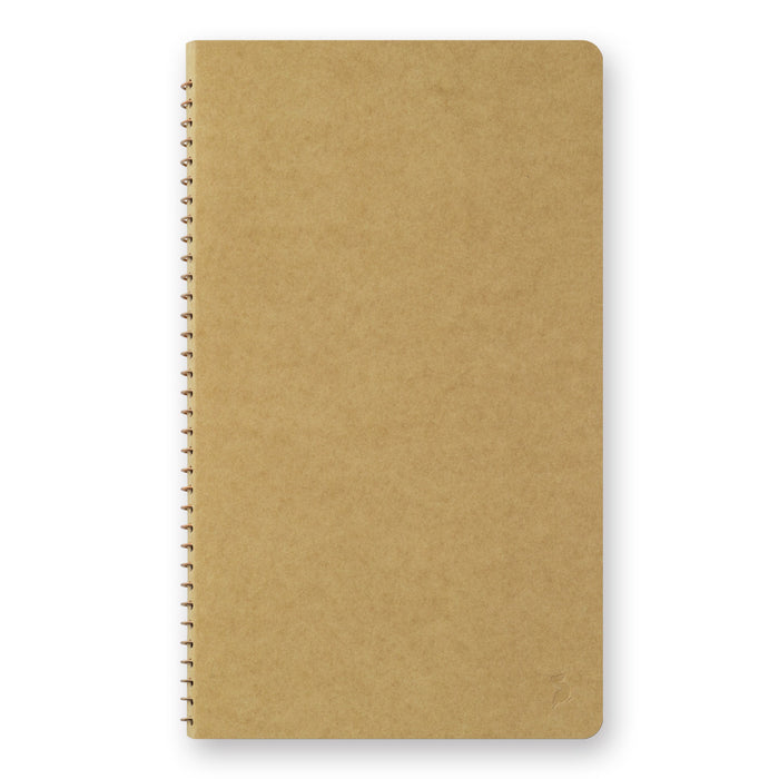 A5 Slim Spiral Ring Notebook - Pelican