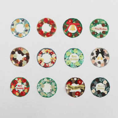 Limited Edition Washi Stickers - Christmas Wrealth