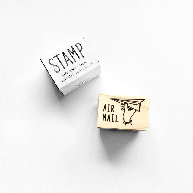 Rubber Stamp - Air Mail