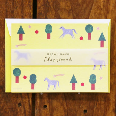 Mini Letter Set - Playground