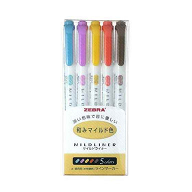 Mildliner Highlighters - Nagomi