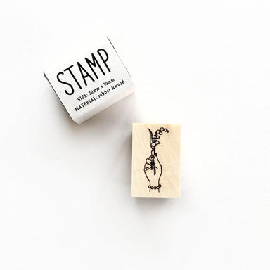 Rubber Stamp - Lily of the Valley