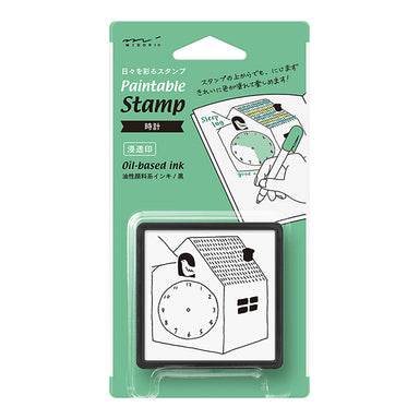 Self-inked Planner Stamp - Time Schedule