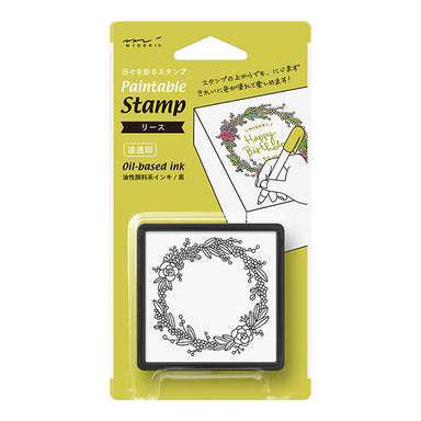 Self-inked Planner Stamp - Botanical