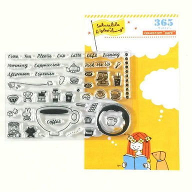 365 Clear Stamps - CAFE