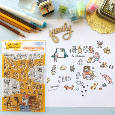 365 Clear Stamps - DOGS