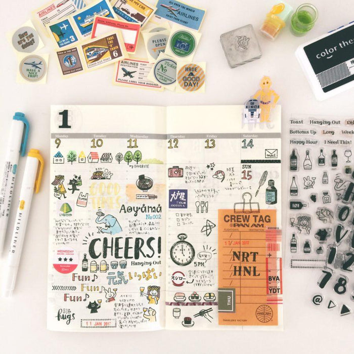 365 Clear Stamps - Happy Hour
