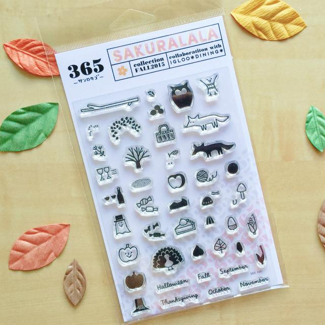 365 Clear Stamps - AKI
